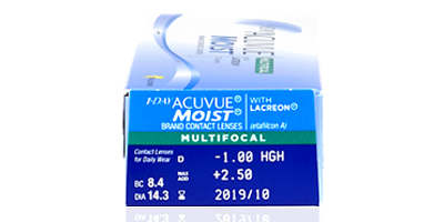 Acuvue Johnson & Johnson  1 Day Acuvue Moist Multifocal