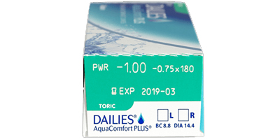 Ciba Vision Dailies Aquacomfort Plus 30 Pack