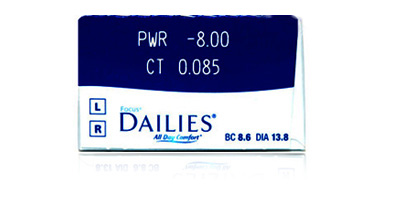 Ciba Vision Cibavision Focus Dailies All Day comfort Daily Disposable