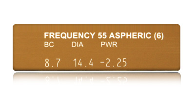 Coopervision Frequency 55 Aspheric