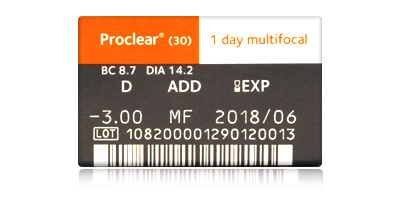 Coopervision Proclear 1 Day Multifocal 30 Pack