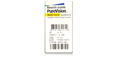 Bausch & Lomb Purevision Multifocal