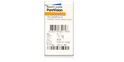 Bausch & Lomb Purevision Toric