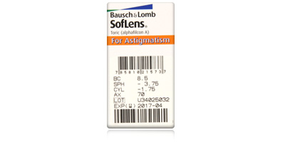 Bausch & Lomb Bausch & Lomb Soflens Daily Disposable Toric for Astigmatism