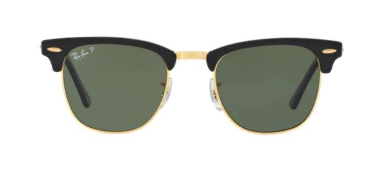 Ray Ban Clubmaster RB3016 901/58 Sunglasses