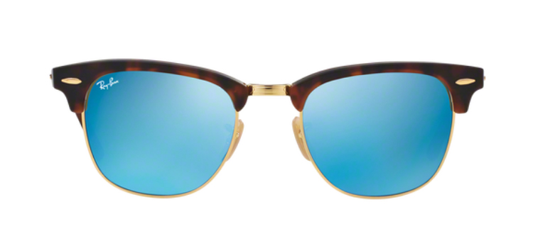 Ray Ban Clubmaster RB3016 114547 Sunglasses
