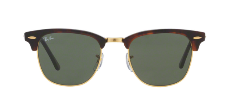 Ray Ban Clubmaster RB3016 W0366 Sunglasses