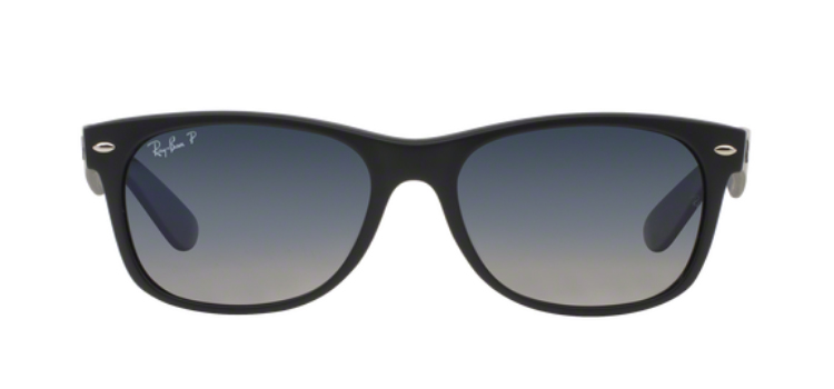 Ray Ban New Wayfarer RB2132 Matt Black Sunglasses