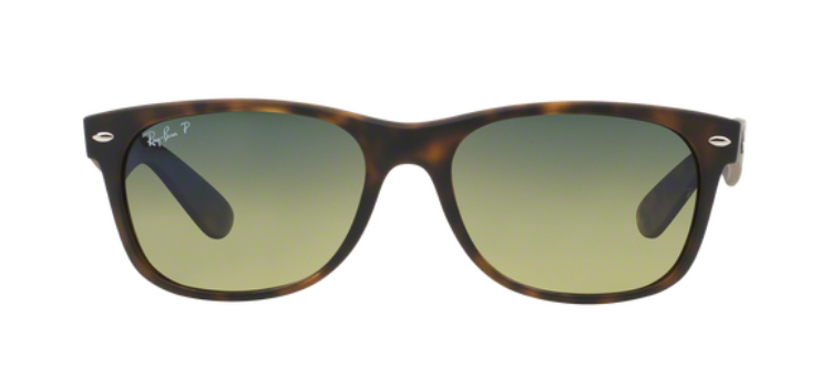 Ray Ban New Wayfarer RB2132 Matt Havana Sunglasses
