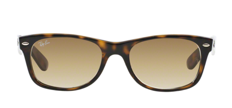 Ray Ban New Wayfarer RB2132 Light Havan Sunglasses