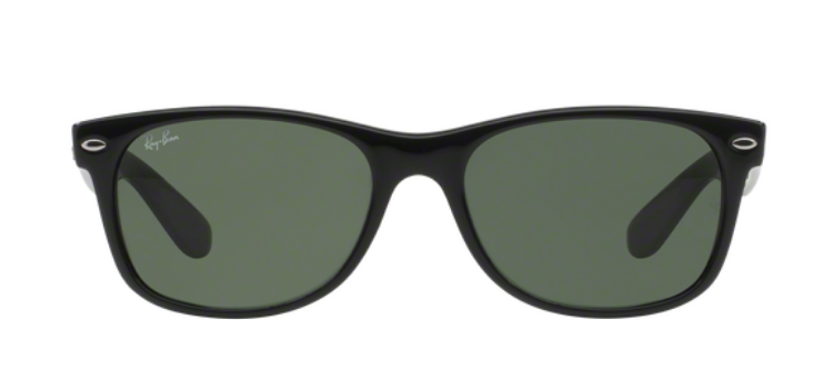 Ray Ban New Wayfarer RB2132 Black Sunglasses