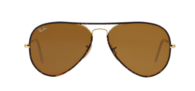 Ray Ban Aviator full colour RB3025JM 001 Sunglasses