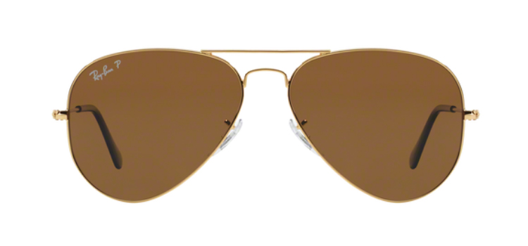 Ray Ban Aviator Large Metal RB3025 Gold Sunglasses