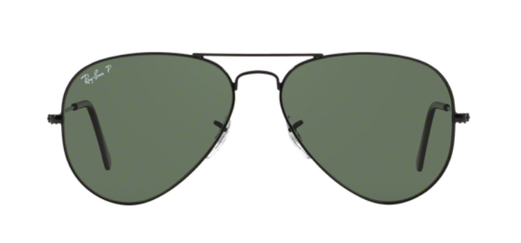 Ray Ban Aviator Large Metal RB3025 Black Sunglasses