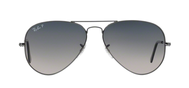 Ray Ban Aviator Large Metal RB3025 Gunmetal Sunglasses