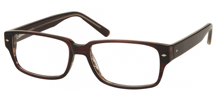 A153A Brown A153 Glasses