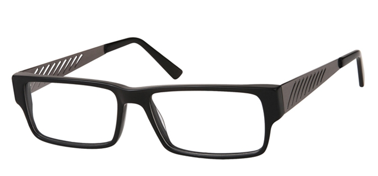 A134D Black + gunmetal A134 Glasses