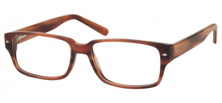 A153C Grainy Brown A153 Glasses