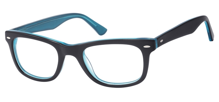 A101C Black & Turquoise A101 Glasses