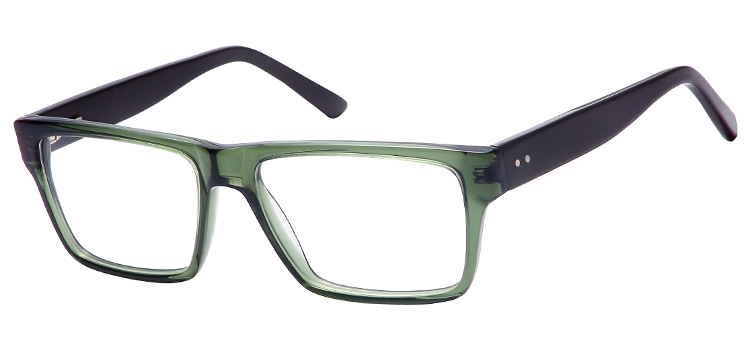 A98B Clear Green A98 Glasses