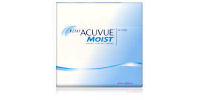 1 Day Acuvue Moist 90 Pack Contacts