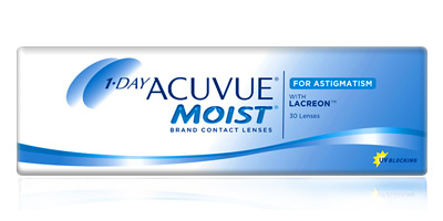 1 Day Acuvue Moist for Astigmatism 30 Pack Contacts