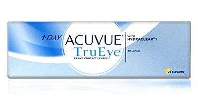 1 Day Acuvue TruEye  With Hydraclear from Johnson and Johnson Contacts