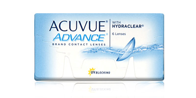 Johnson & Johnson Acuvue Advance Two Weekly Disposable Contact Lenses