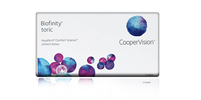 Biofinity Toric Contact Lenses
