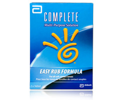 Complete Contact Lens Solution