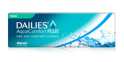 Focus Dailies Toric All Day Comfort for Astigmatism 30 Pack One-Day Contact Lenses