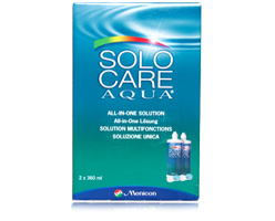 Focus Aqua (Solocare Aqua) Contact Lens Solution