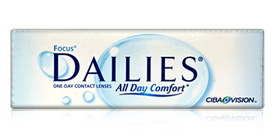 Cibavision Focus Dailies All Day comfort Daily Disposable Contact Lenses