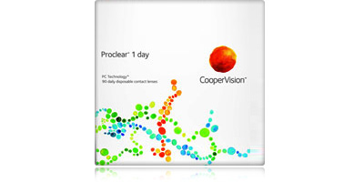 Coopervision Proclear 1 Day 90 Pack Disposable Daily Contact Lenses