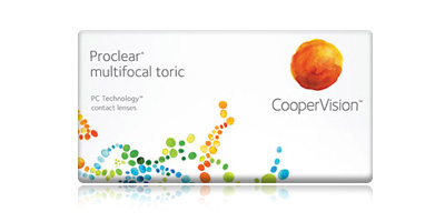 Proclear Multifocal Toric Contact Lenses