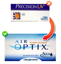 Precision UV Contact Lenses