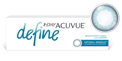 1-Day Acuvue Define   with LACERON & UV Blocking Lenses