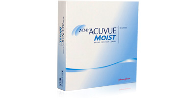 1 Day Acuvue Moist 90 Pack Lenses