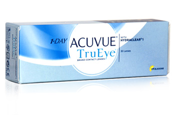 1 Day Acuvue TruEye  With Hydraclear from Johnson and Johnson Lenses