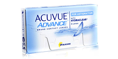 Acuvue Advance for Astigmatism Lenses