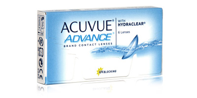Johnson & Johnson Acuvue Advance Two Weekly Disposable Lenses