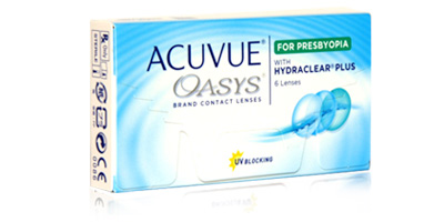 Acuvue Oasys For Presbyopia Lenses