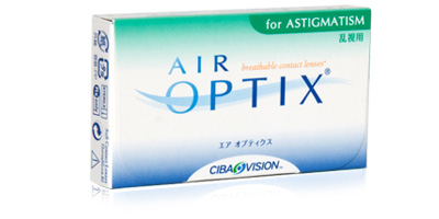 Air Optix for Astigmatism Lenses