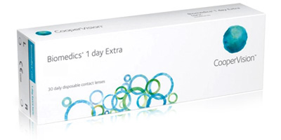 Coopervision Biomedics 1 Day Extra 30 Pack Disposable Lenses