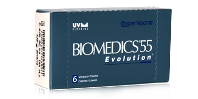 Biomedics 55 Evolution Lenses
