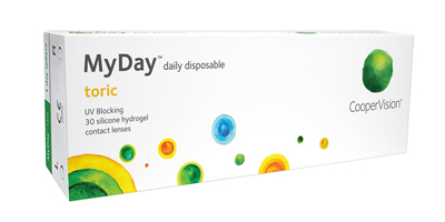 Coopervision MyDay Toric Lenses