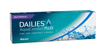 Dailies Aqua Comfort Plus Multifocal Lenses