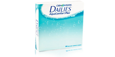 Dailies Aquacomfort Plus 90 Pack Lenses