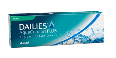 Alcon Dailies AquaComfort Plus Toric One-Day Lenses