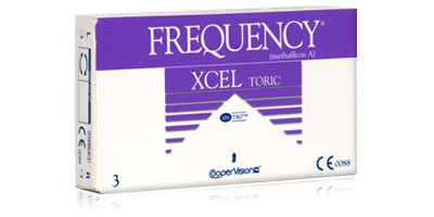 Frequency XCEL Toric Lenses